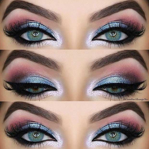Summer Night Out Makeup Idea