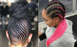 Cool Ways to Wear Feed In Cornrows