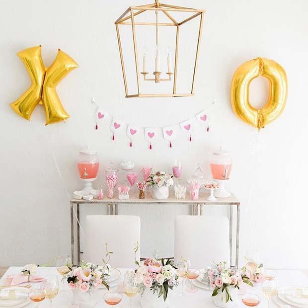 Bachelorette Party Decor Idea