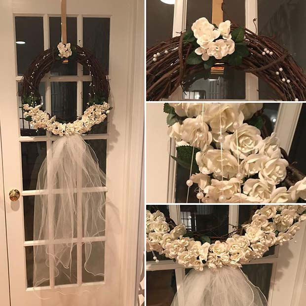 Bridal Wreath for a Bachelorette Party