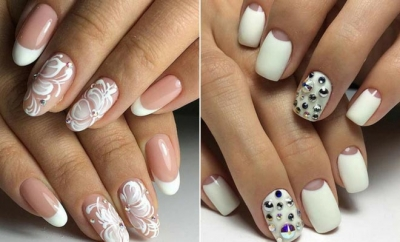 Chic White Acrylic Nails to Copy