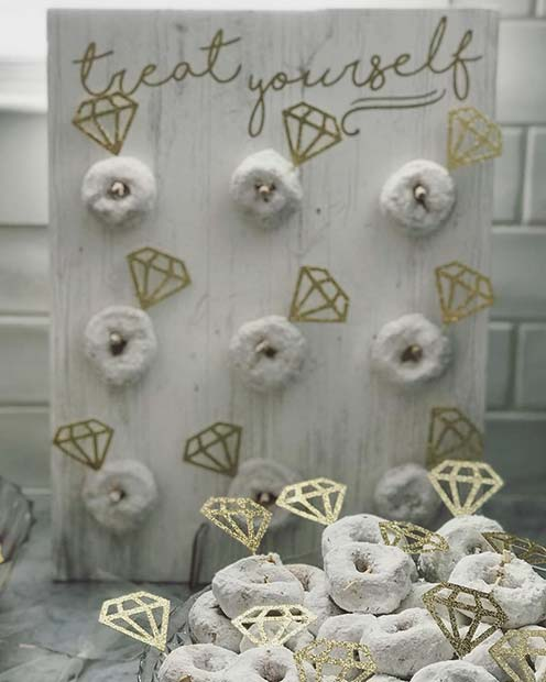 Engagement Ring Doughnuts