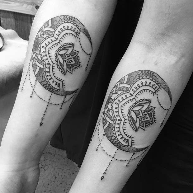 Matching Sibling Tattoos