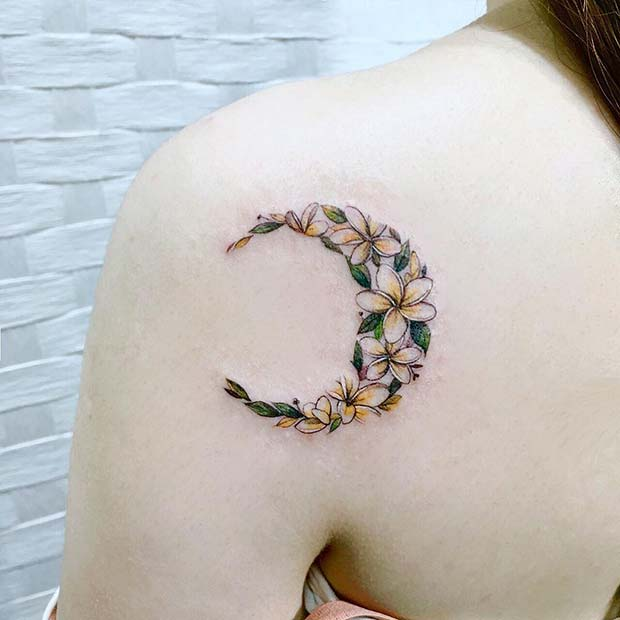 85db7cf0c 41 Most Beautiful Shoulder Tattoos for Women | StayGlam
