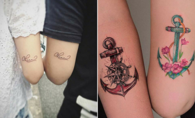 Cool Sibling Tattoos You'll Want to Get Right Now
