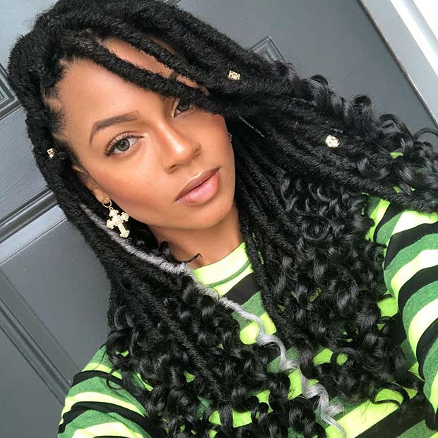43 Ways To Pull Off Goddess Faux Locs Page 2 Of 4 Stayglam