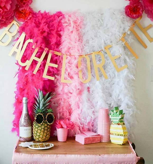Tropical Bachelorette Party Decorations