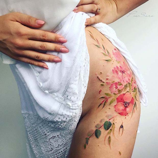 23 Trendy Hip Tattoos That Are Actually Badass