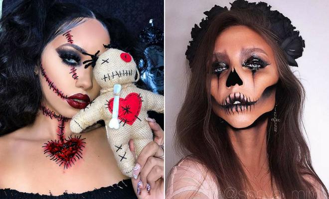 23 Pretty Halloween Makeup Ideas
