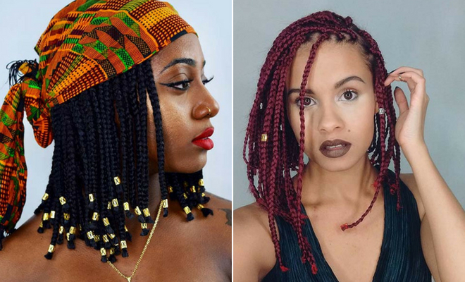 Cute Medium Box Braids You Need to Try