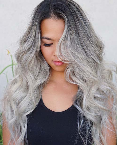 23 Silver Hair Color Ideas & Trends for 2018 | Page 2 of 2 ...