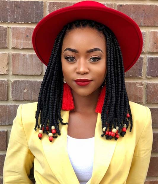 43 Cute Medium Box Braids You Need To Try Stayglam