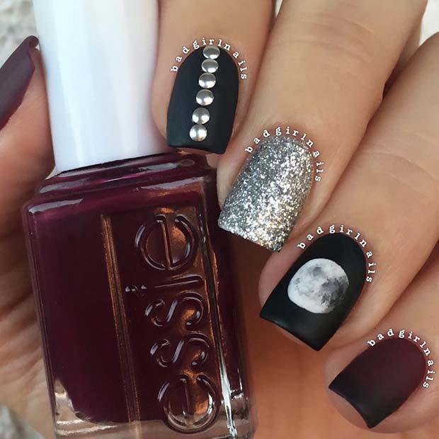 Edgy Nail Art Design