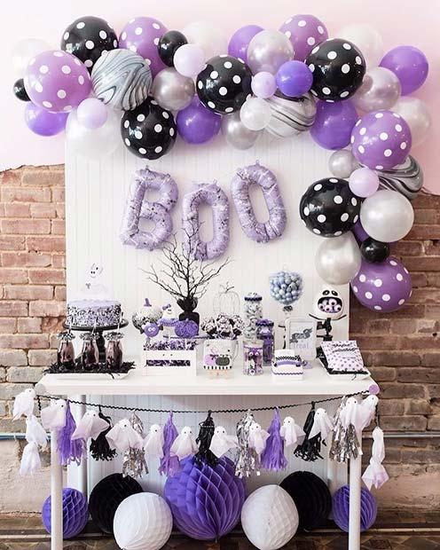 Boo Decor Baby Shower Idea