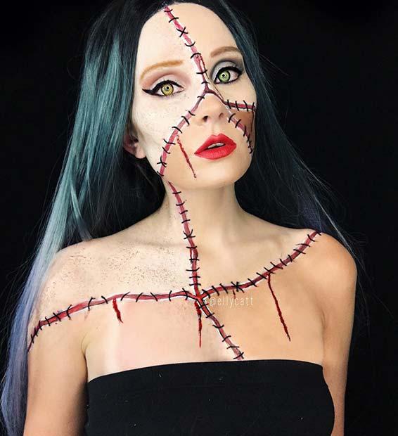 Easy Halloween Costumes - Bride of Frankenstein