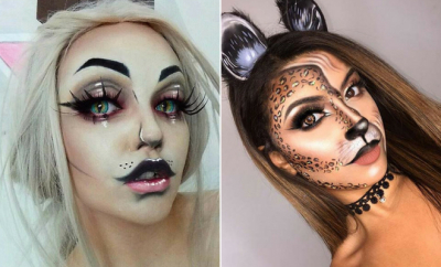 Easy Cat Makeup Ideas for Halloween