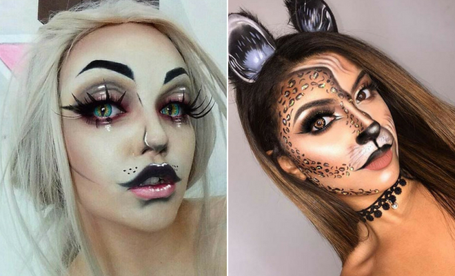 21 Easy Cat Makeup Ideas for Halloween