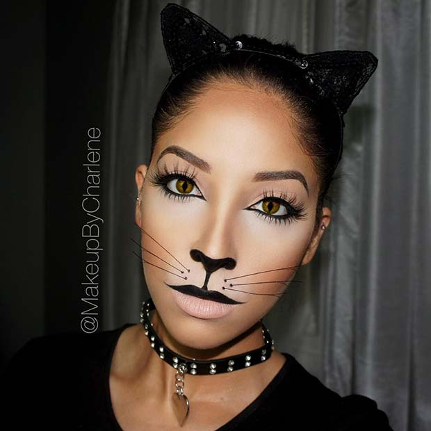 41 Easy Cat Makeup Ideas for Halloween | Page 2 of 4 ...