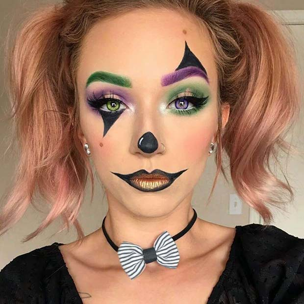 clown make up