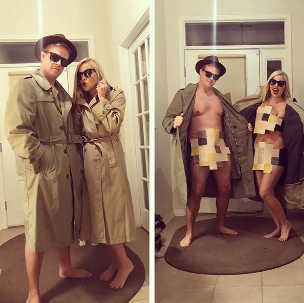 Halloween Costumes For Couples Funny.45 Genius Couples Halloween Costumes Page 2 Of 4 Stayglam