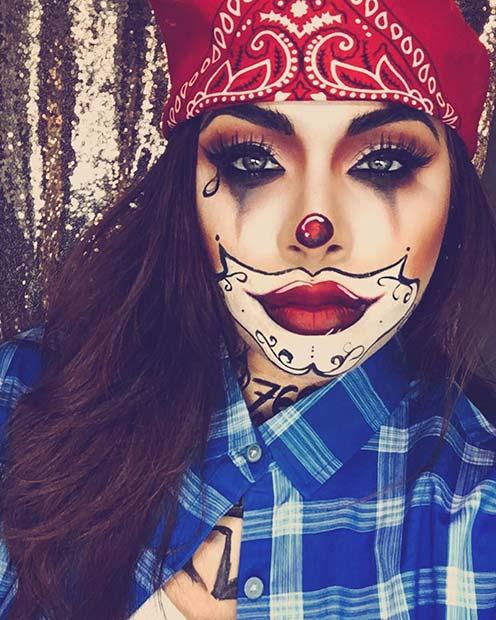 Gangster Clown Look