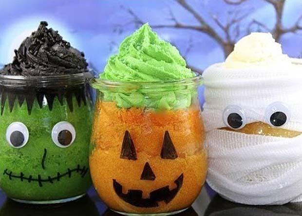 Halloween Baby Shower Dessert Idea
