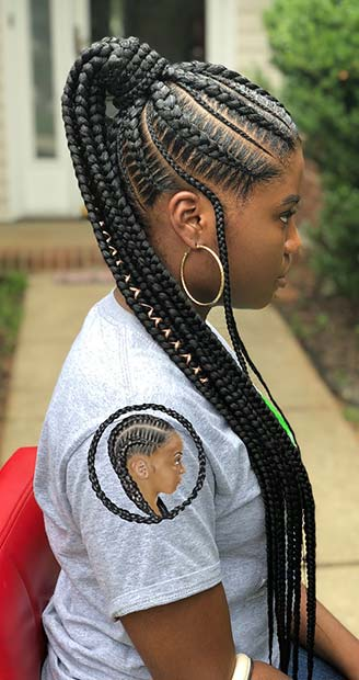 43 Best Braided Ponytail Hairstyles For 2019 Page 3 Of 4