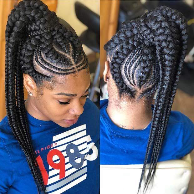 43 Best Braided Ponytail Hairstyles For 2019 Page 2 Of 4