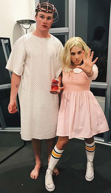 Stranger Things Couples Halloween Costume