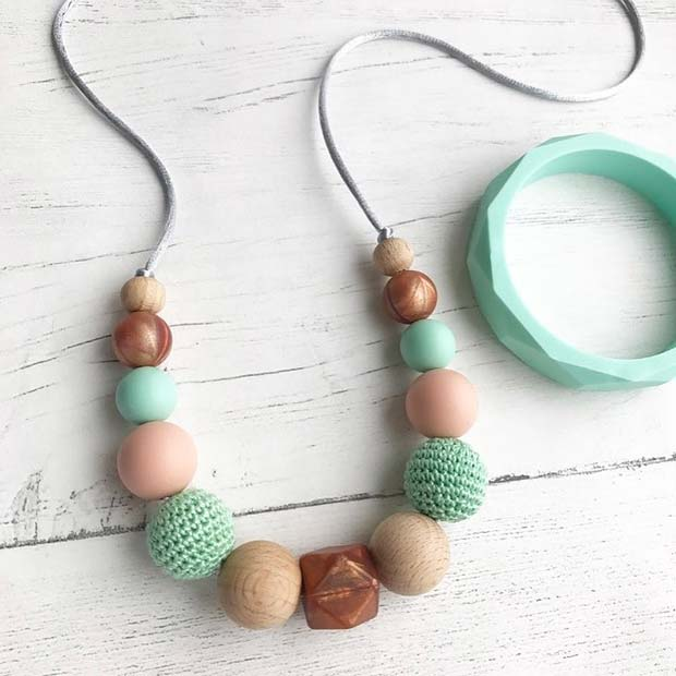 Teething Jewelry - Baby Shower Gift Idea