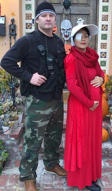 The Handmaid's Tale Couples Halloween Costume