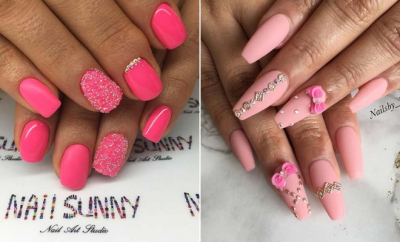 Ridiculously Pretty Ways to Wear Pink Nails