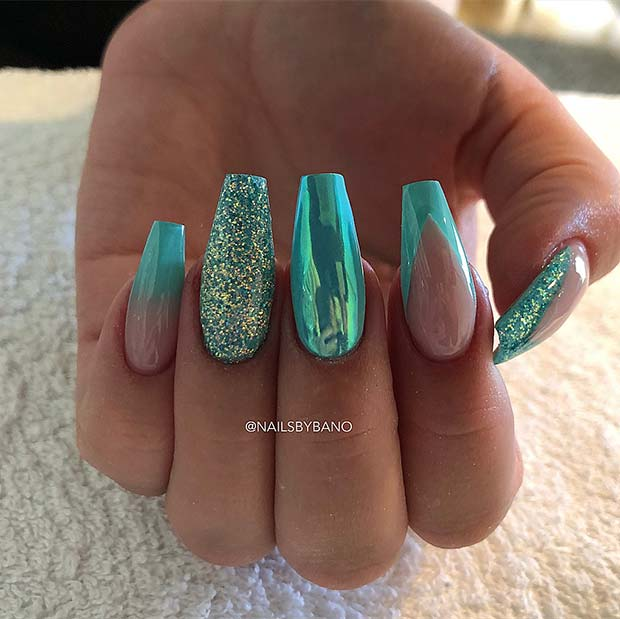 23 Beautiful Nail Art Designs For Coffin Nails Stayglam Page 2