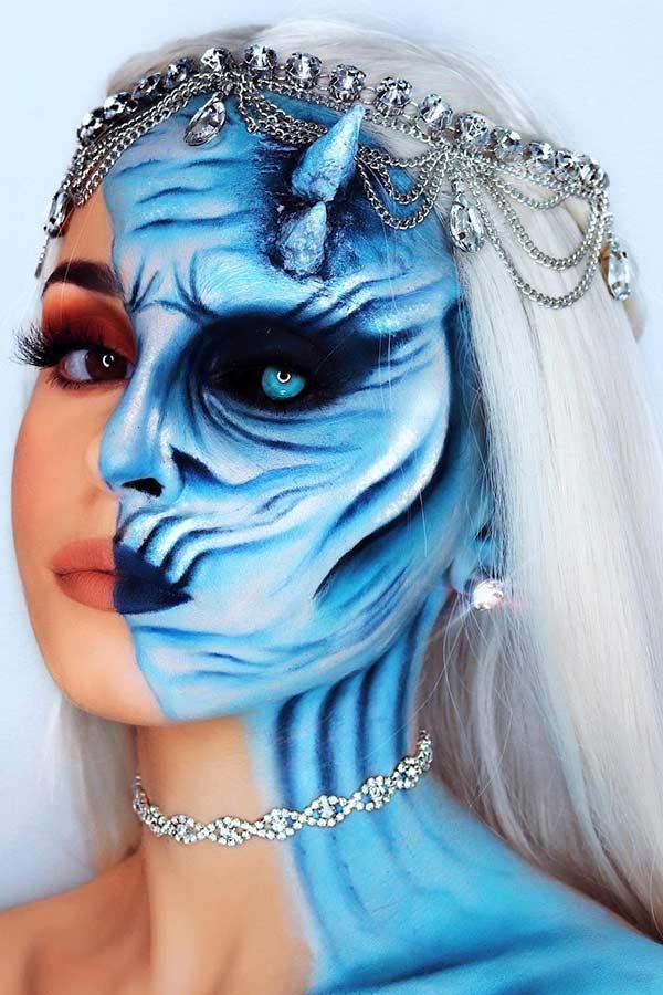 Game of Thrones Halloween Makeup