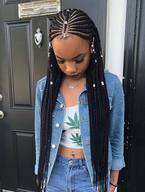 63 Badass Tribal Braids Hairstyles To Try Page 2 Of 6