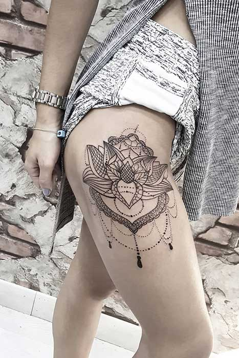 45 Pretty Lotus Flower Tattoo Ideas For Women Page 2 Of 4 Stayglam