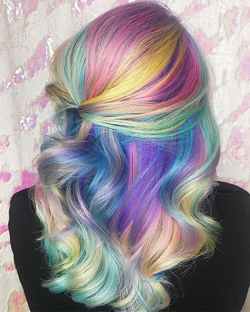 Unicorn Hair Color Ideas You Need To Try - crazyforus