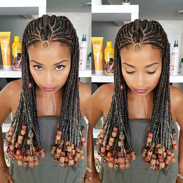 23 Badass Tribal Braids Hairstyles to Try | Page 2 of 2 ...