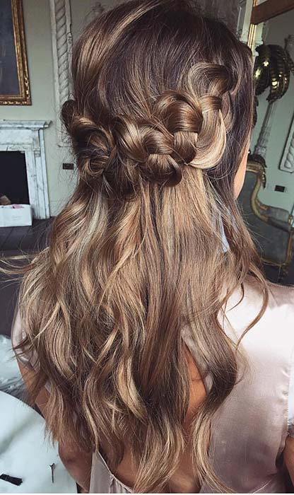 Half Up, Half Down Braid Hairstyle