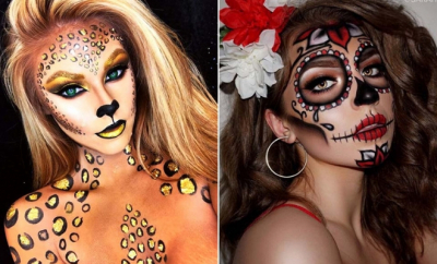 Pretty DIY Halloween Makeup Looks & Ideas