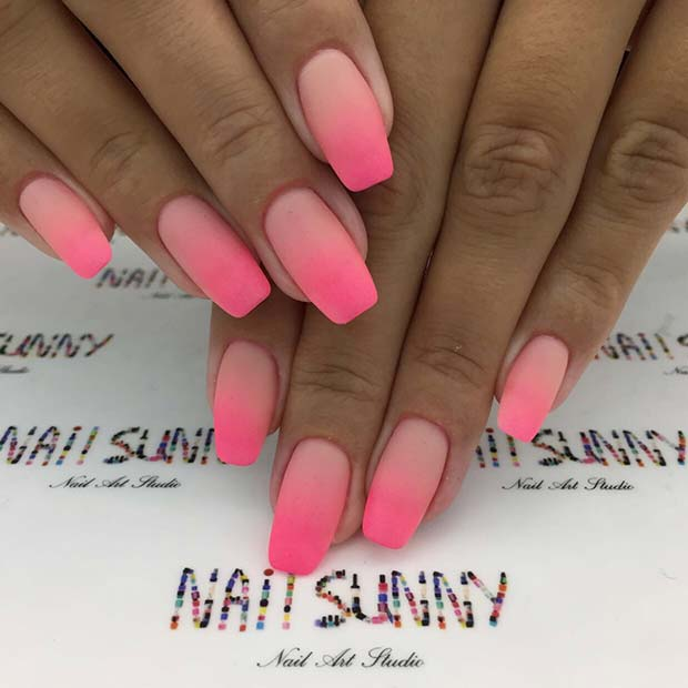 21 Ridiculously Pretty Ways To Wear Pink Nails Stayglam Page 2
