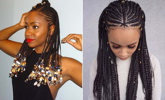43 Badass Tribal Braids Hairstyles to Try