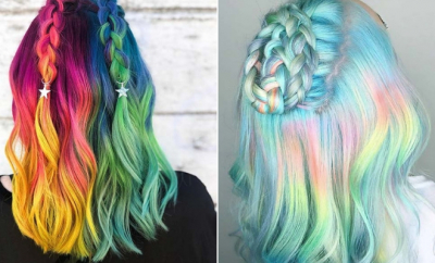 Unicorn Hair Color Ideas We're Obsessed With