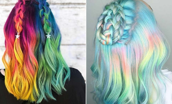 21 Unicorn Hair Color Ideas We Re Obsessed With Page 2 Of 2 Stayglam