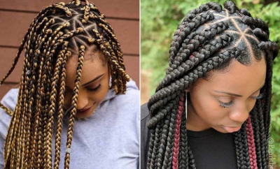 Pretty Triangle Braids Hairstyles You Need to See