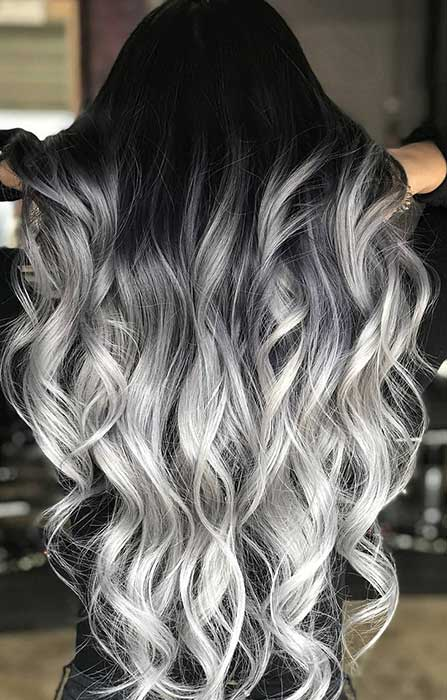 23 Silver Hair Color Ideas Trends For 2018 Stayglam Page 2