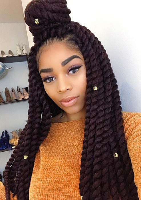 Crochet Twist Braids