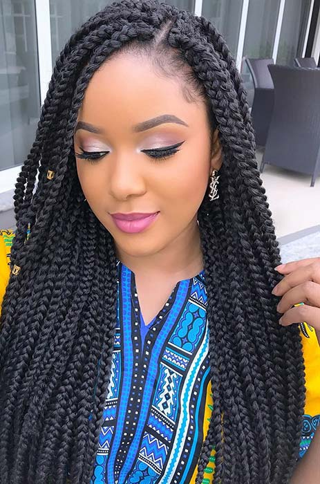 25 Crochet Box Braids Hairstyles For Black Women Page 2 Of 2 Stayglam