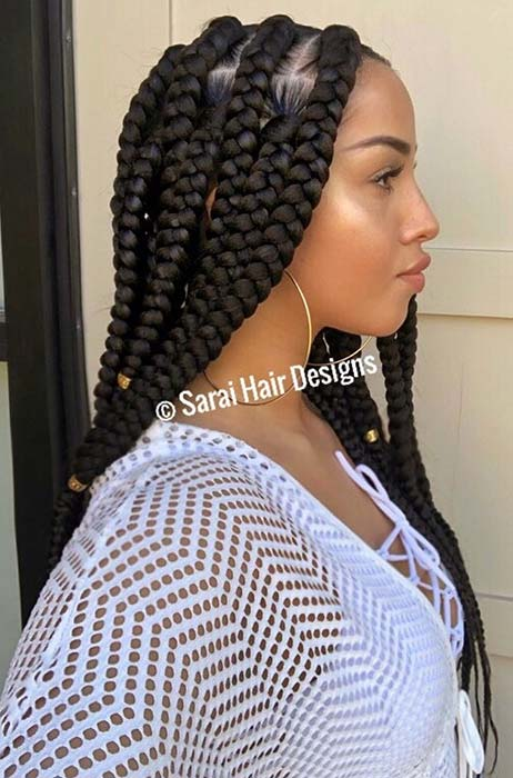 Long Big Box Braids