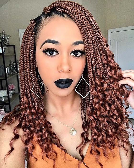 25 Crochet Box Braids Hairstyles For Black Women Page 2 Of